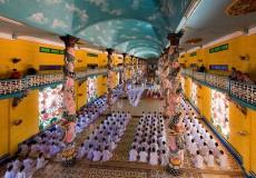 Cao dai temple2